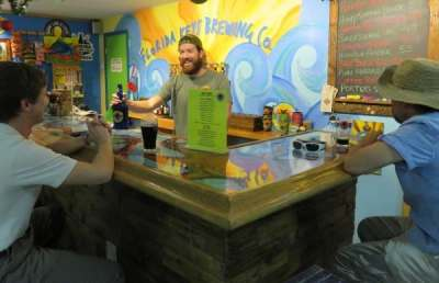 Taproom at Florida Keys Brewing Company in Islamorada