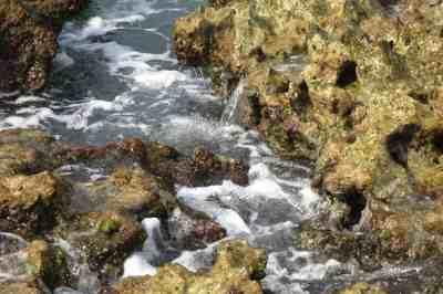 Waves at Little Bahia Honda Island, a kayak destination off Bahia Honda State Park in the Florida Keys. (Photo: Bonnie Gross)