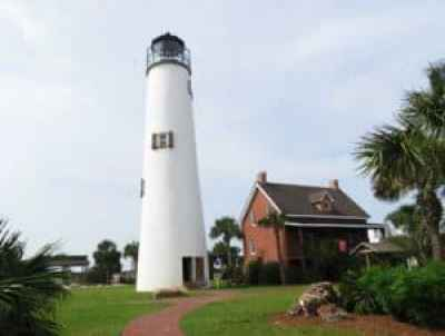 You can climb the lighthouse on St. George Island. (Photo: Bonnie Gross)