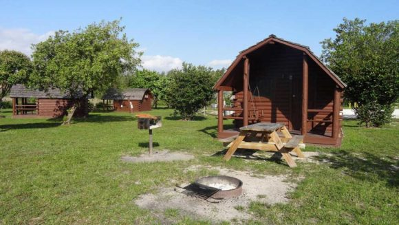 Cabins at Oleta River State Park