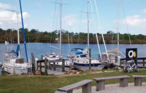 boat docks at St. lucie south