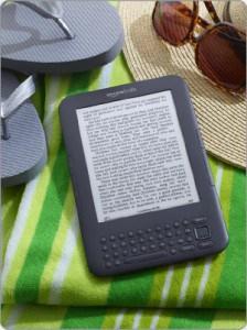 The Amazon Kindle e-reader