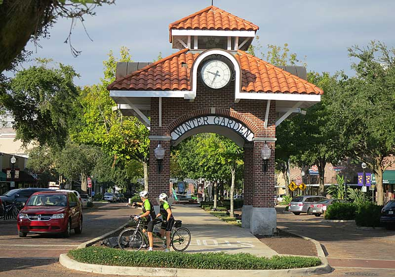 Winter Garden: Old Florida town thrives around great bike trail ...