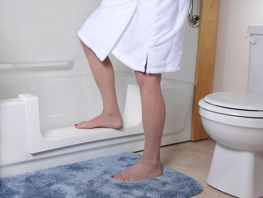 Picture of a Safeway Step Bathtub