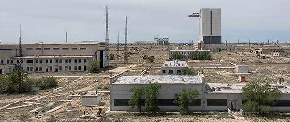 View of Baikonur Cosmodrome Bob Thissen