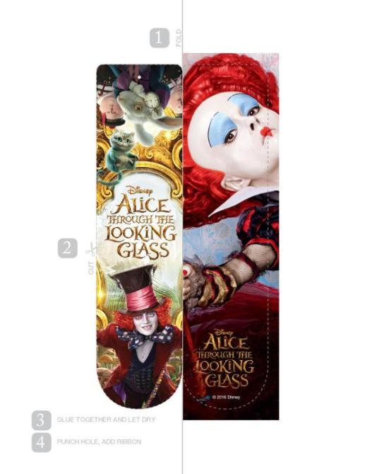 Alice-Through-The-Looking-Glass-Bookmark-Red-Queen