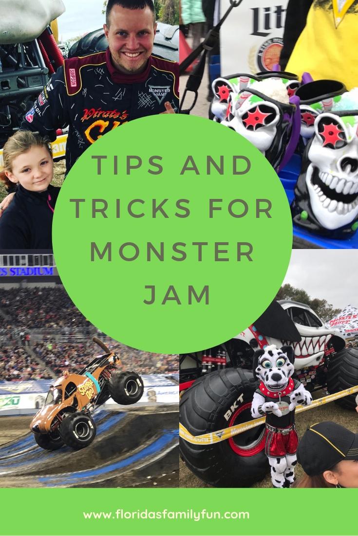 monster jam tips and tricks