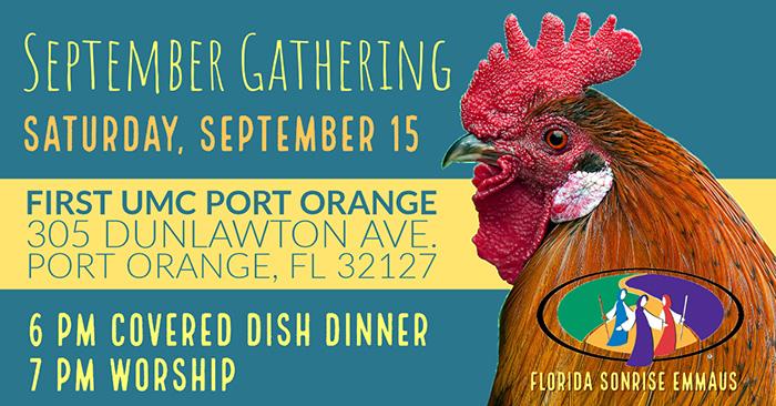 Florida Sonrise Emmaus September Gathering