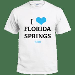 I 💙 Florida Springs T-shirt