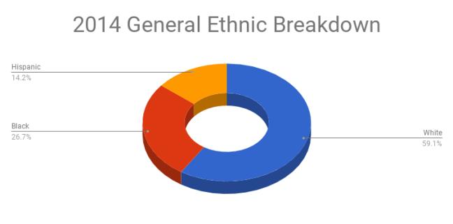 2014 General Election Ethnic Breakdown