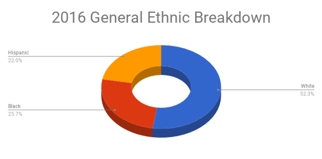 2016 General Election Ethnic Breakdown
