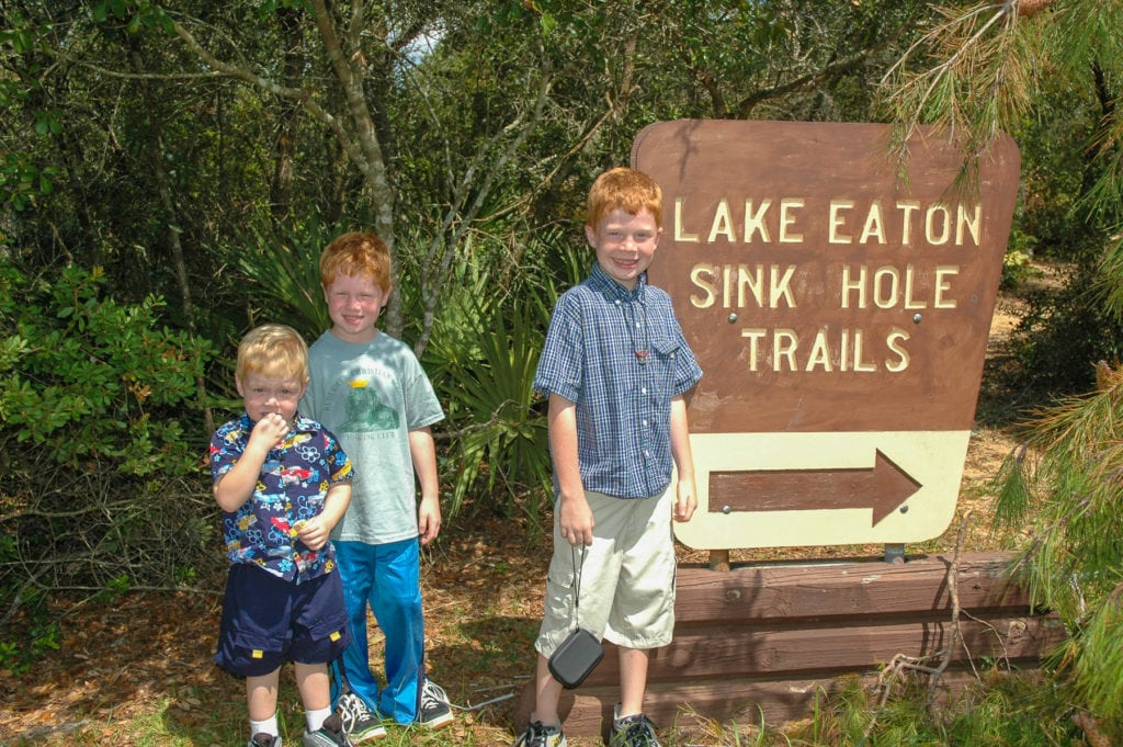 Lake Eaton Sinkhole Trails