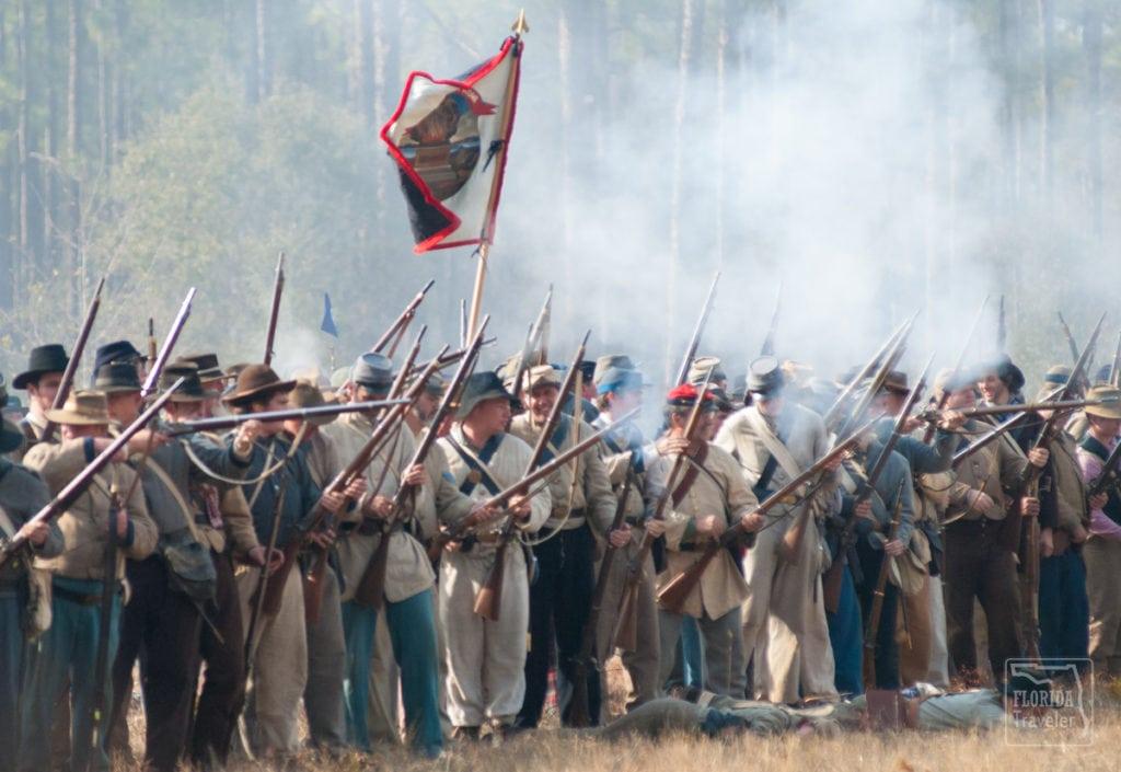 Confederate Troops at Olustee