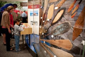 Canoe Exhibit at Silver River Museum