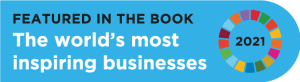 """Featured in the book """"The World's Most Inspiring Businesses"""""""