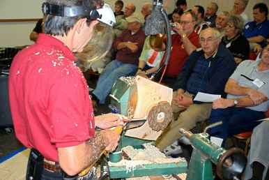 Rudy Lopez at the lathe.JPG