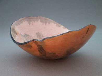 Natural Edge Bowl Maple