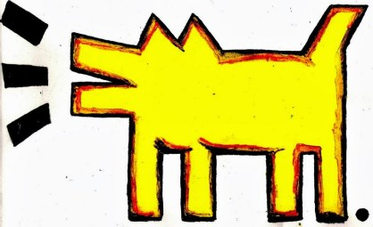 Keith Haring, Sans Titre, 1981.