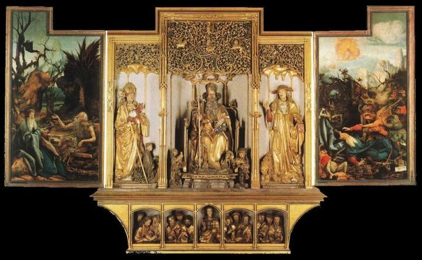 sculptures retable