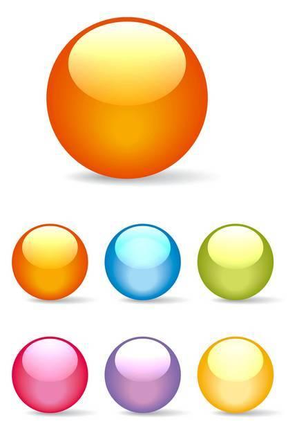 Sfere colorate