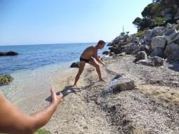 Metoda tratidional greceasca-fragezirea tentaculelor