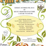 Florissant Fall Festival on Sunday, October 9
