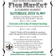 Flea Market & Farmers Market on July 15