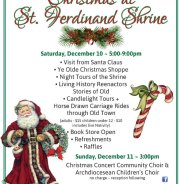 Christmas at St. Ferdinand Shrine – Dec. 10-11