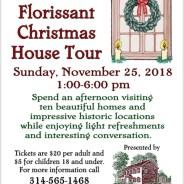 Old Town Florissant Christmas House Tour – Nov. 25