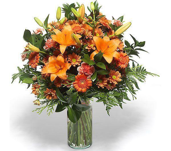 ramo-de-gerberas-lilium-y-margaritas-en-tonos-naranjas