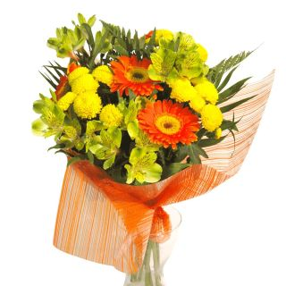 Ramo-naranja-y-amarillo-con-gerberas-1
