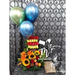 #floristeriasenbucaramanga #floristeriaenbucaramanga #floresbucaramanga #chocolate #globos #ramosdeflores #cajasdeflores #fresasconchocolate #rosainmortalizada