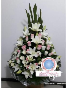 MUNDO DE FLORES Fúnebre F012