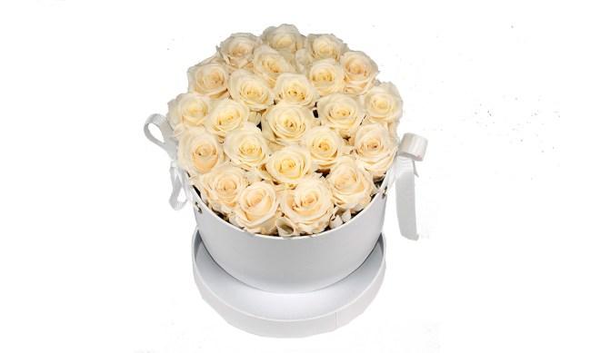 Caja Rosa Eterna Blanca. Floristería Pétalos · Tienda Online. Gran selección de complementos florales: jarrones, maceteros, cestas para flores y plantas. Haz tu pedido online y recibe el envío en tu domicilio.