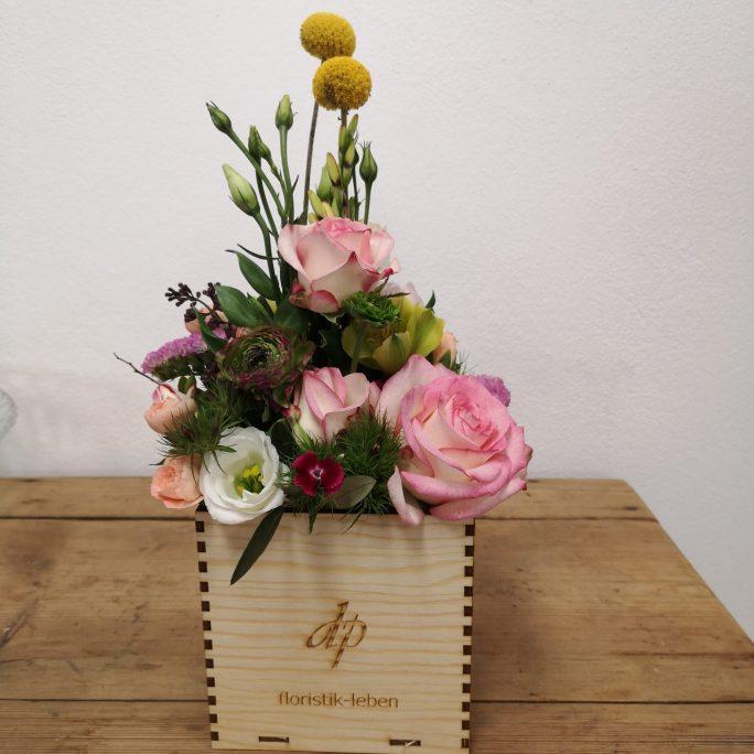 Blumenbox Farbenfroh
