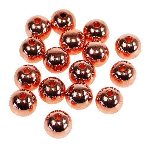 Dekoperlen Kupfer Metallic 14mm 35st Preiswert Online Kaufen