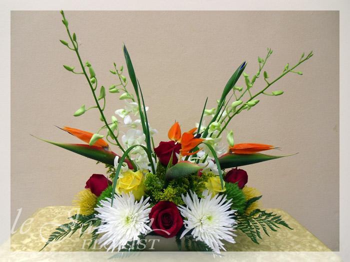 Tropical Flower Arrangements  FLORIST PALM BEACH GARDENS