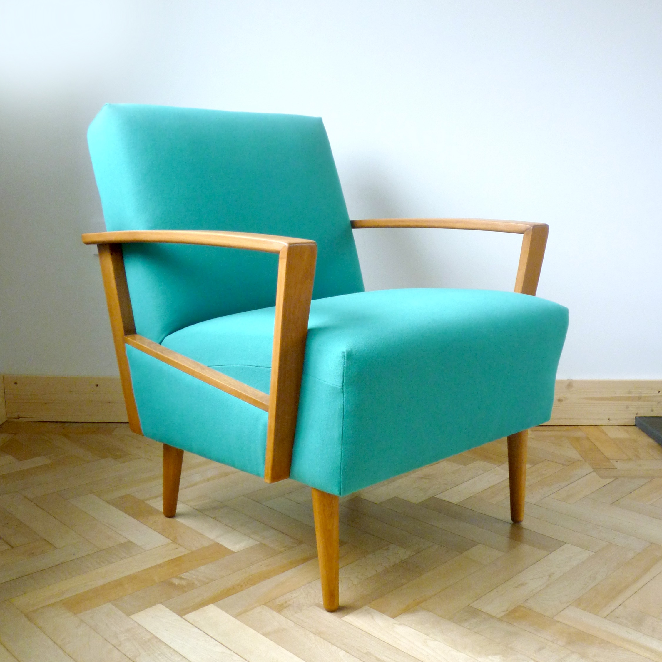chair design brands slip covers dining room teal retro danish armchair from drab to dreamy florrie 43bill
