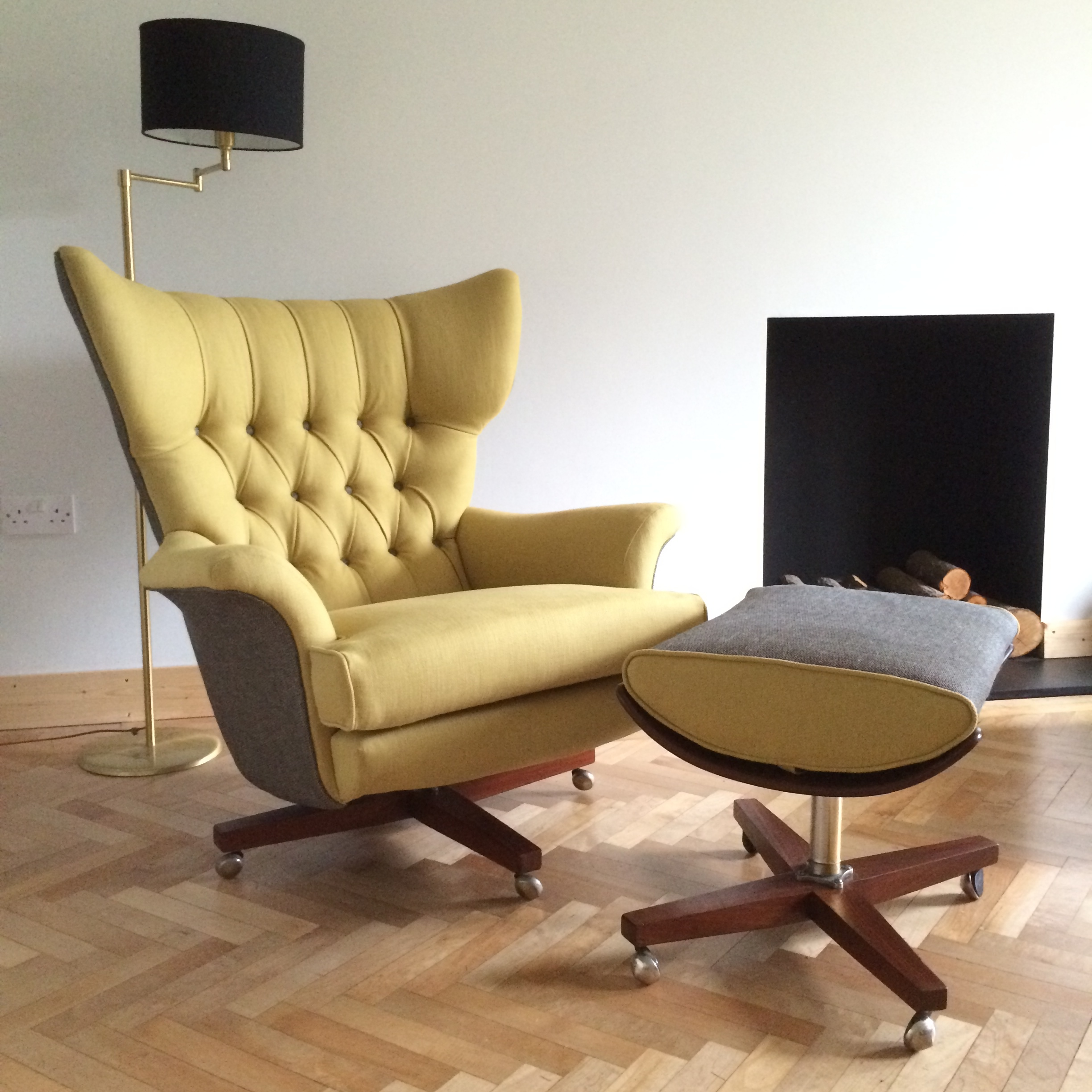 Vintage Swivel Chair G Plan Florrie Bill