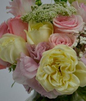 Bouquet de flores pasteles para Arreglos florales Tijuana - Florerias en Tijuana