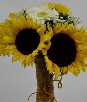 Bouquet de girasoles y gerberas para Arreglos florales Tijuana - Florerias en Tijuana