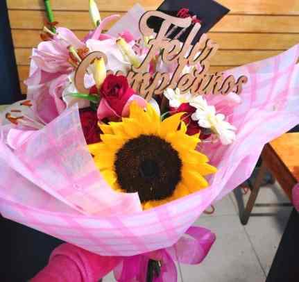 Ramo de flores surtidas para Arreglos florales Tijuana - Florerias en Tijuana
