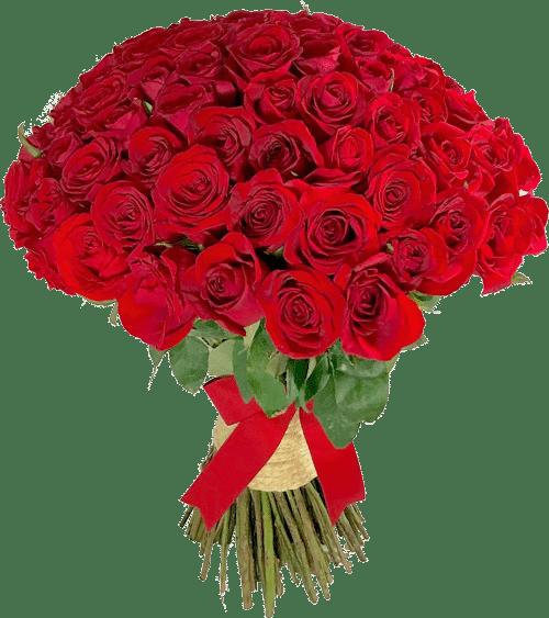 Ramo de 100 rosas - Florerías en Tijuana, Arreglos Florales Tijuana