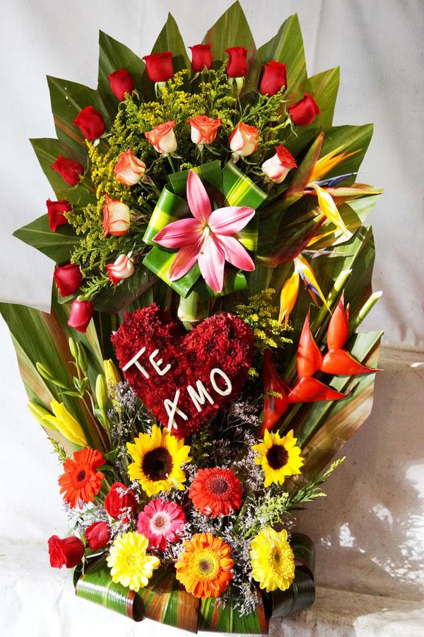 Arreglo floral. florerías en Tijuana, Envío de flores a domicilio Tijuana