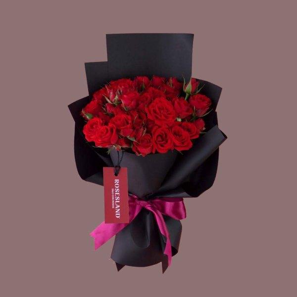 Jardín de rosas - Ramo de Rosas
