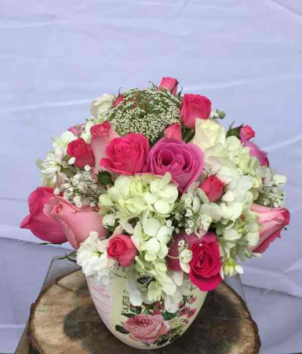 Jarron de flores, florerias en Pachuca, Envío de flores a domicilio Pachuca