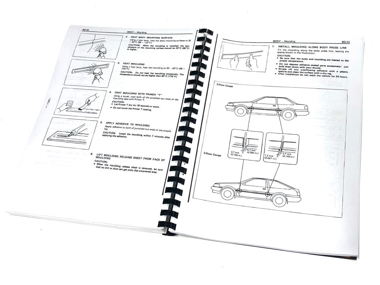 AE86 Repair Manual
