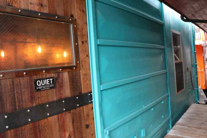 Riley's Railhouse Bed and Breakfast-Boxcar Accommodations