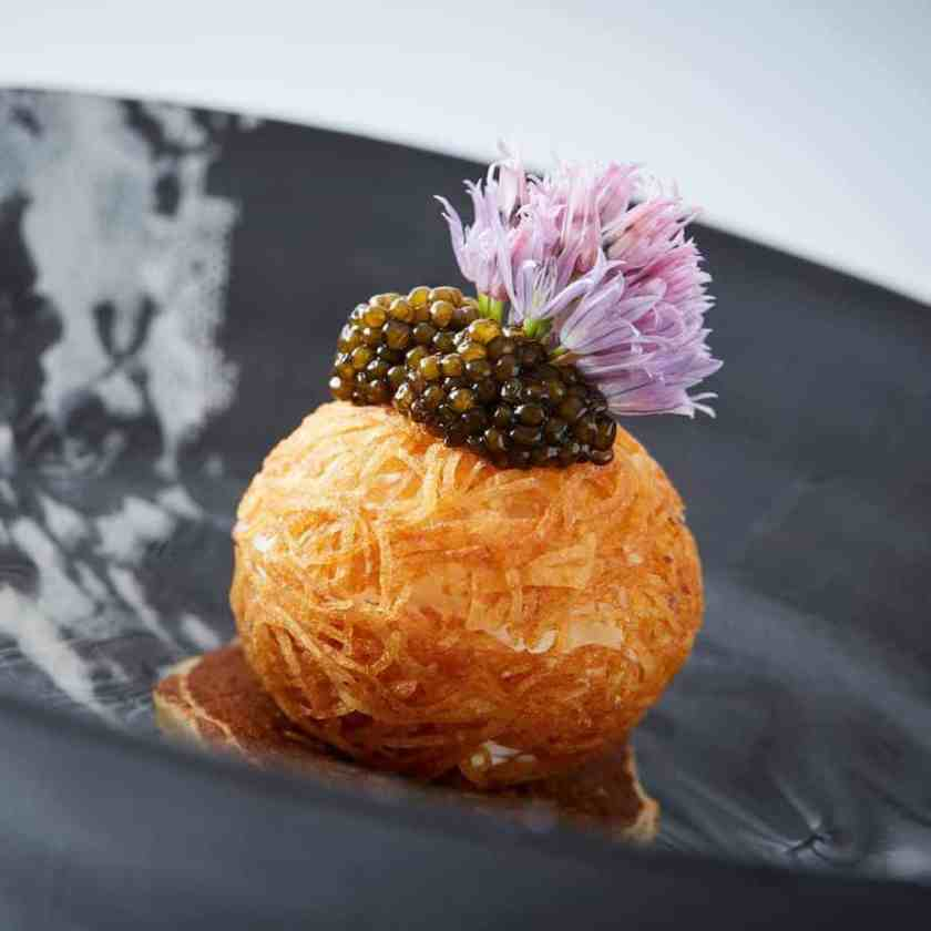 French cuisine from George Trois restaurant