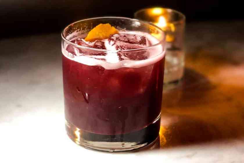 Cocktail in spotlight